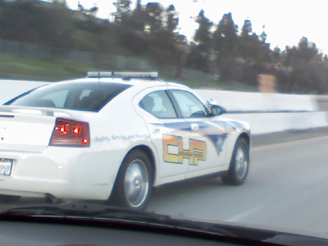 Chp Dodge Charger Be Careful California Evolutionm